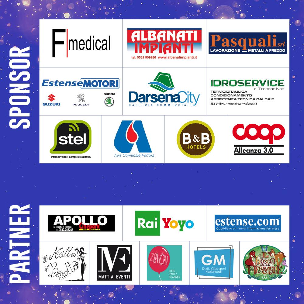 Partner e Sponsor Ferrara in Fiaba